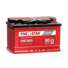 Akumulator FIVE STAR ORIGINAL 72Ah 670A